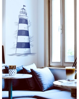 Adesivo Decorativo Lighthouse - AD016